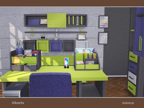 Alberta office by soloriya at TSR image 3413 Sims 4 Updates