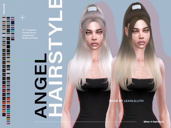 Angel Hair by Leah Lillith at TSR image 3431 Sims 4 Updates
