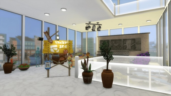 SimCity Contemporary Museum by lolakret at Mod The Sims image 344 670x377 Sims 4 Updates