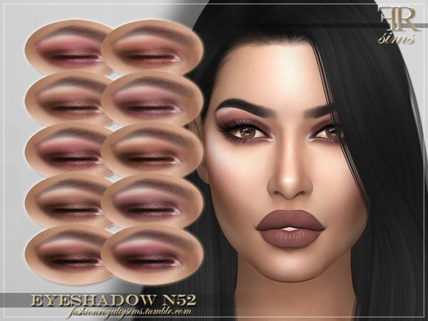 FRS Eyeshadow N52 by FashionRoyaltySims at TSR image 3515 Sims 4 Updates