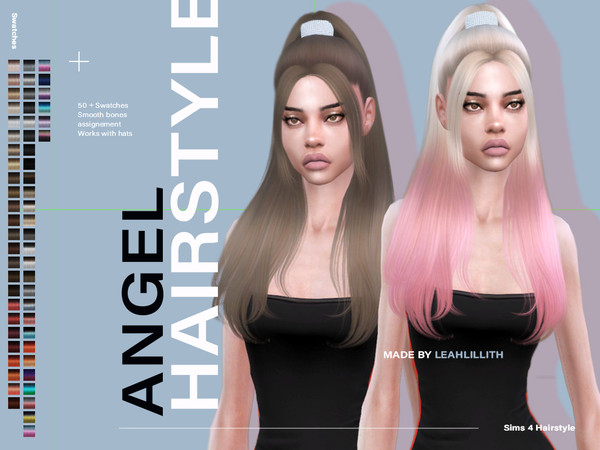Angel Hair by Leah Lillith at TSR image 3526 Sims 4 Updates