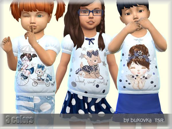 Sims 4 T shirt Friends by bukovka at TSR