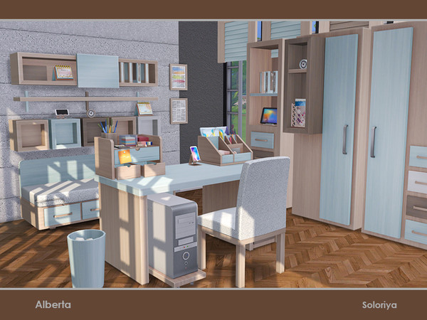 Alberta office by soloriya at TSR image 364 Sims 4 Updates