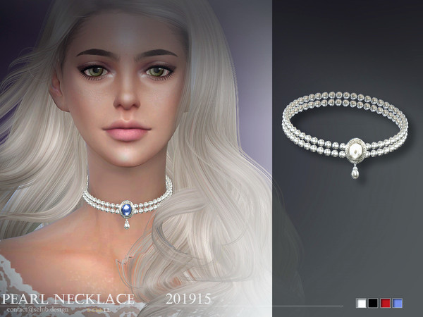 Sims 4 Necklace 201915 by S Club LL at TSR