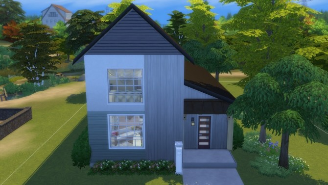 Sims 4 Long and Skinny Shanty by Vulpus at Mod The Sims