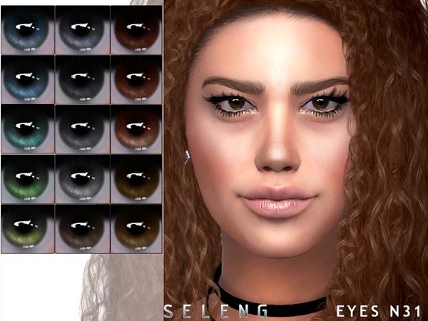 Sims 4 Eyes N31 by Seleng at TSR
