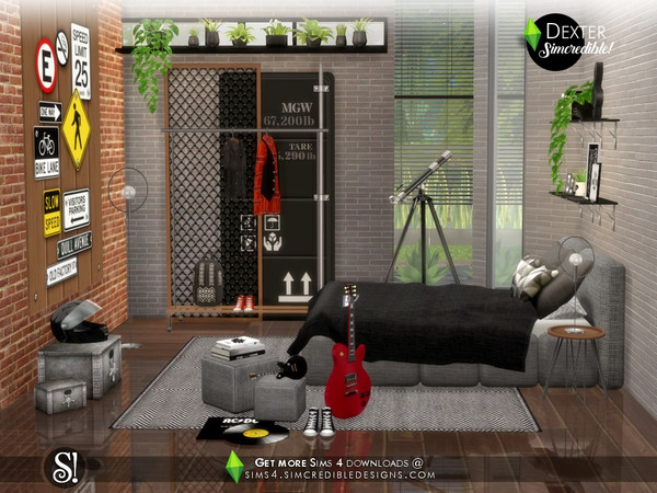 Sims 4 Dexter Extras by SIMcredible at TSR