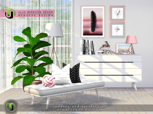 Allie Bedroom Decor by NynaeveDesign at TSR image 4022 Sims 4 Updates