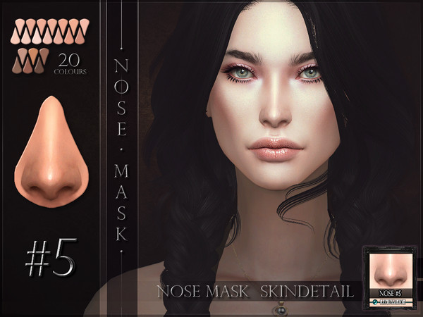 Sims 4 Nosemask 05 by RemusSirion at TSR