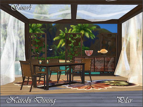 Nairobi Dining by Pilar at TSR image 4115 Sims 4 Updates