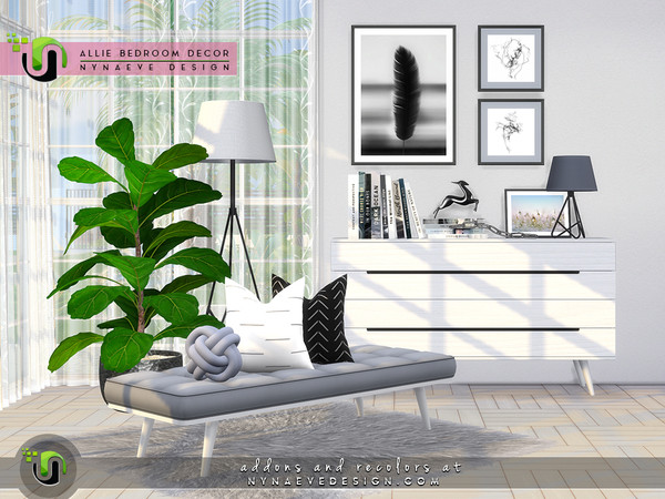 Allie Bedroom Decor by NynaeveDesign at TSR image 4126 Sims 4 Updates