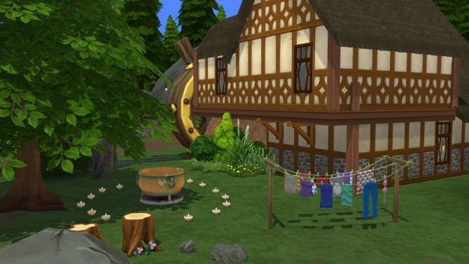 The Woodsmns Cottage CC Free by kiimy 2 Sweet at Mod The Sims image 4210 670x377 Sims 4 Updates