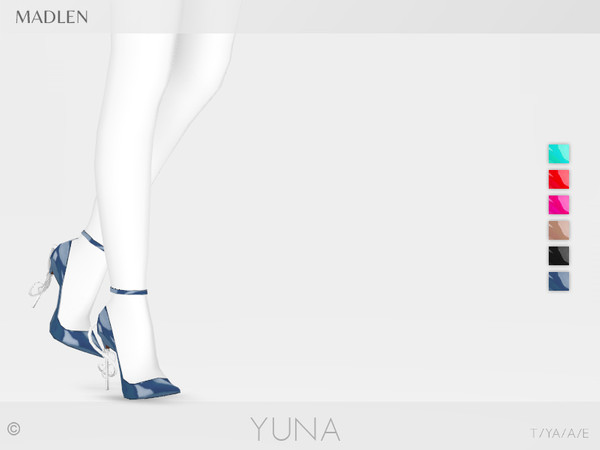 Sims 4 Madlen Yuna Shoes by MJ95 at TSR