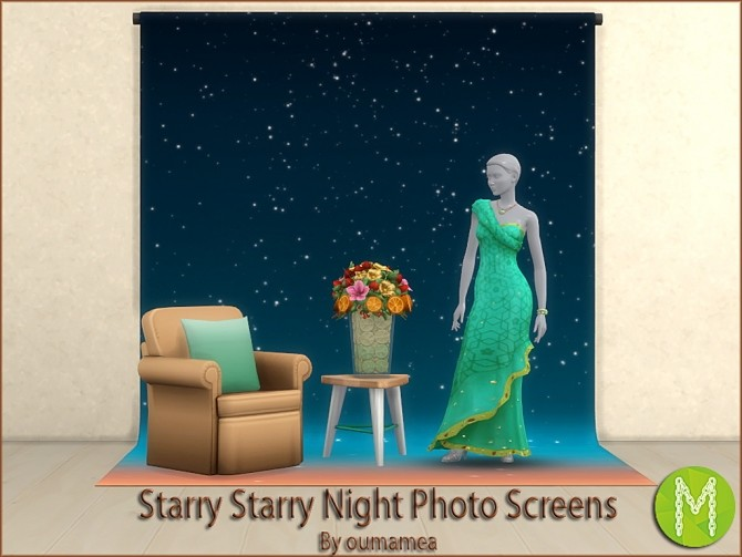 Mea Starry Night Photo Screens by oumamea at Mod The Sims image 423 670x503 Sims 4 Updates