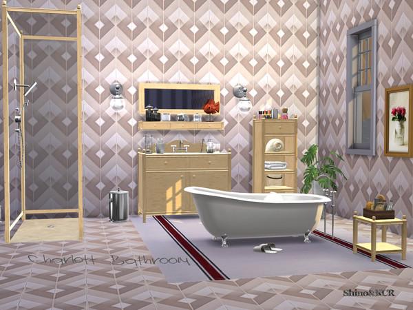 Bathroom Charlott by ShinoKCR at TSR image 428 Sims 4 Updates