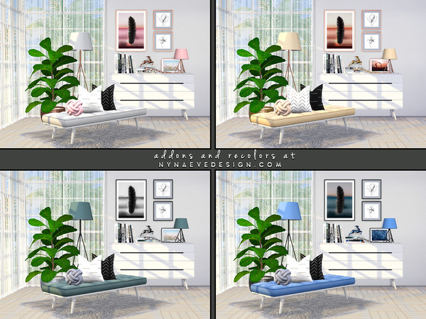 Allie Bedroom Decor by NynaeveDesign at TSR image 4322 Sims 4 Updates