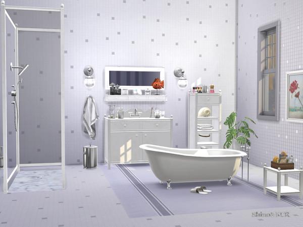 Bathroom Charlott by ShinoKCR at TSR image 437 Sims 4 Updates