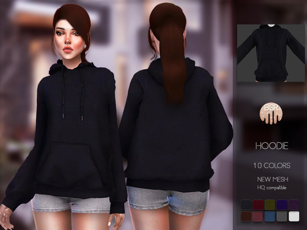 Hoodie BD101 by busra tr at TSR image 439 Sims 4 Updates