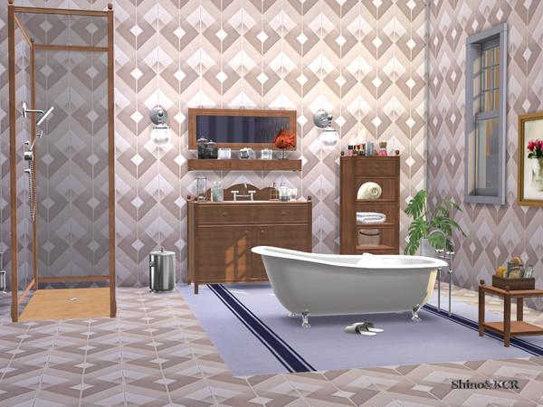 Bathroom Charlott by ShinoKCR at TSR image 447 Sims 4 Updates