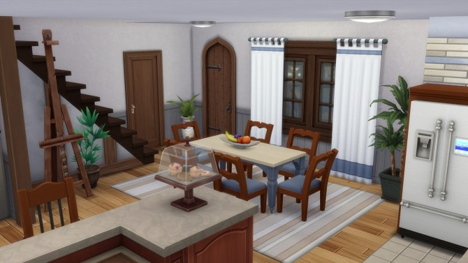 Sims 4 Traditional German House at ArchiSim