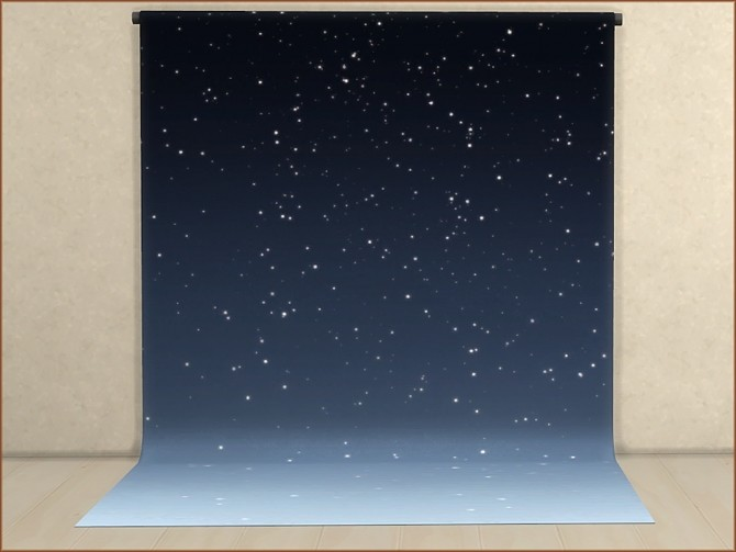 Sims 4 Mea Starry Night Photo Screens by oumamea at Mod The Sims