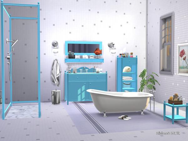 Sims 4 Bathroom Charlott by ShinoKCR at TSR