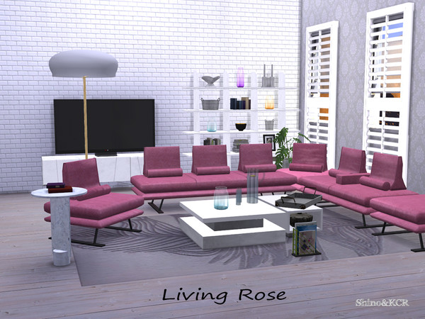 Living Rose by ShinoKCR at TSR image 4619 Sims 4 Updates