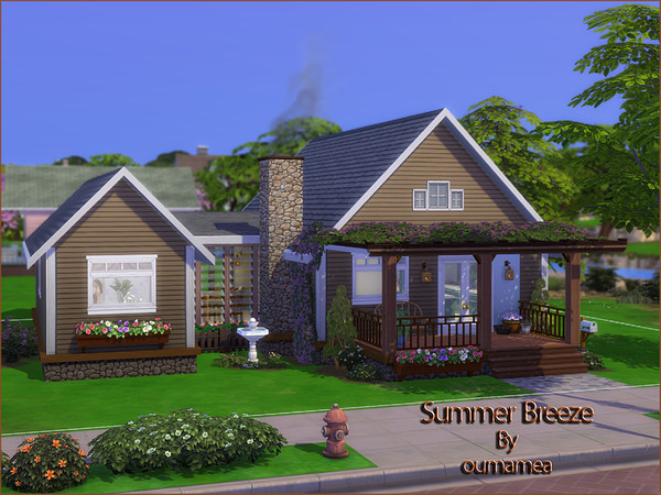 Summer Breeze house by oumamea at TSR image 4820 Sims 4 Updates