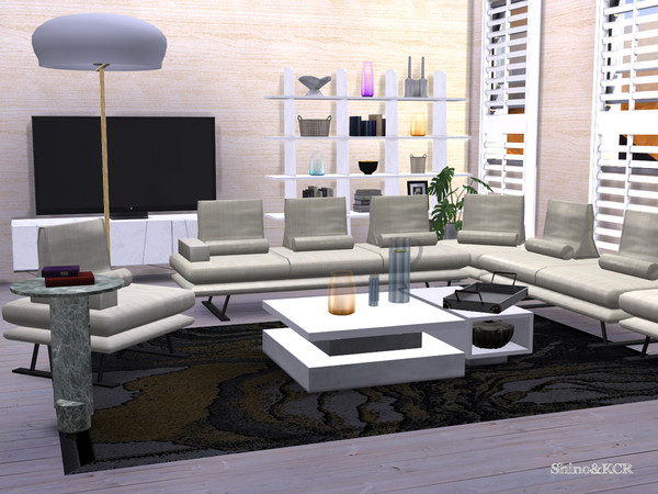 Sims 4 Living Rose by ShinoKCR at TSR