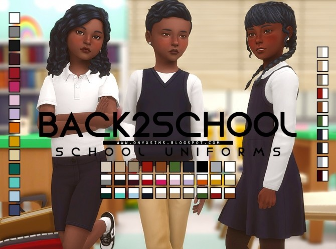 Back 2 School Collection at Onyx Sims image 492 670x497 Sims 4 Updates