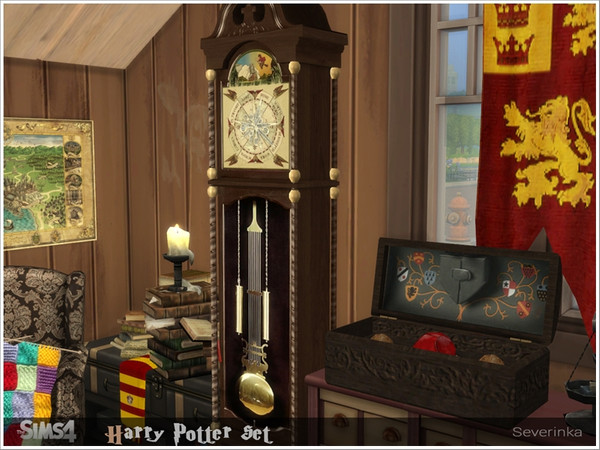 Harry Potter set by Severinka at TSR image 5010 Sims 4 Updates