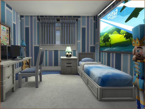Summer Breeze house by oumamea at TSR image 5020 Sims 4 Updates