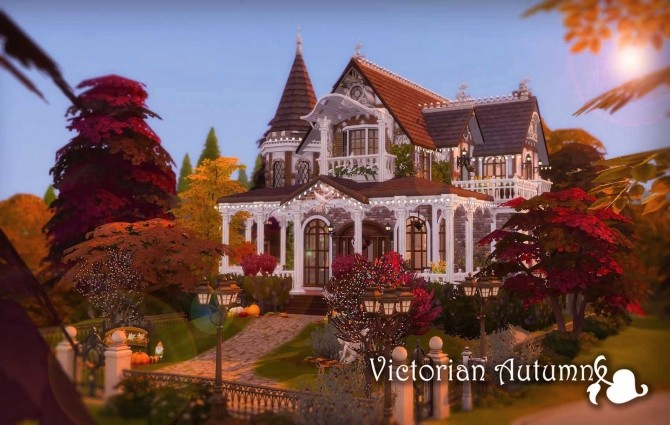 Victorian Autumn House by Ruby Red at Ruby's Home Design image 5111 670x425 Sims 4 Updates