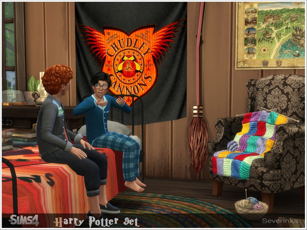 Harry Potter set by Severinka at TSR image 5113 Sims 4 Updates