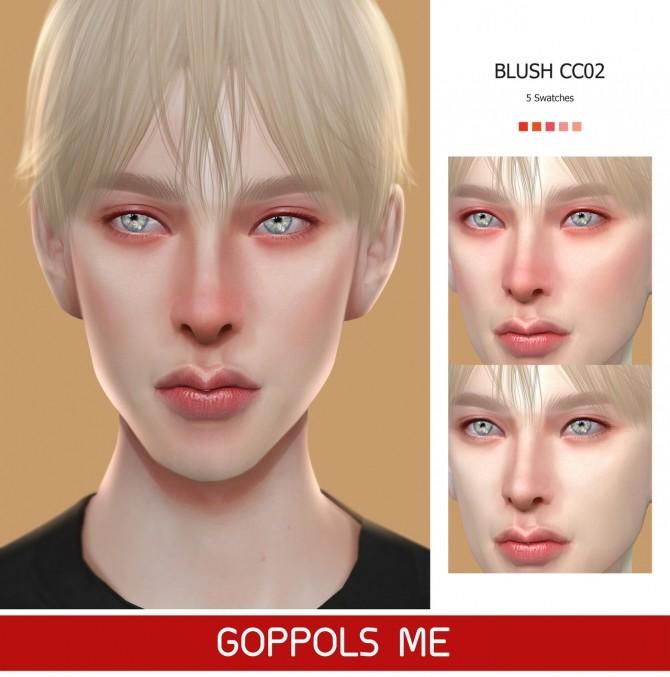 Sims 4 GPME Blush CC02 (P) at GOPPOLS Me