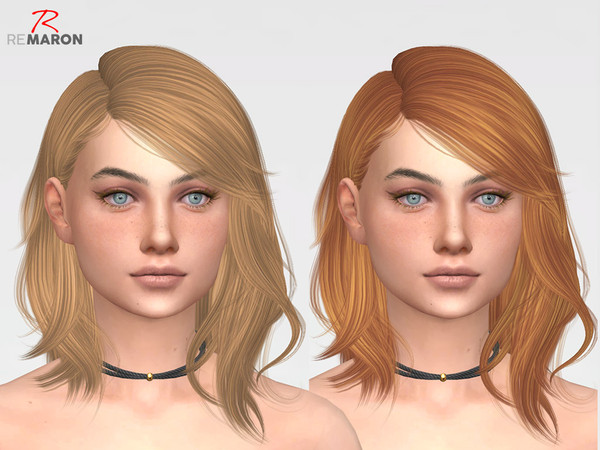 Sims 4 ON0815 Hair Retexture by remaron at TSR