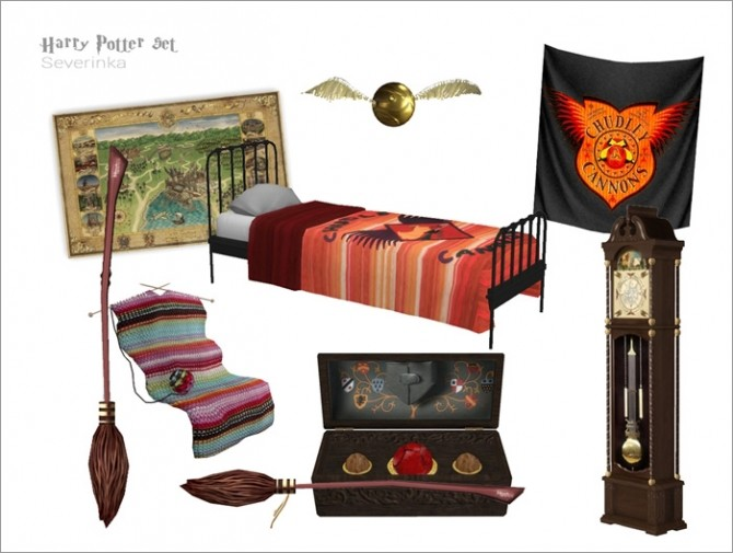 Harry Potter set by Severinka at TSR image 5310 670x505 Sims 4 Updates