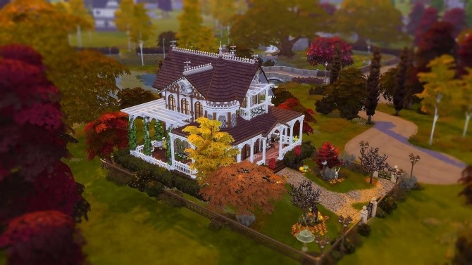 Victorian Autumn House by Ruby Red at Ruby's Home Design image 538 670x377 Sims 4 Updates
