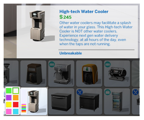 TSMobile > TS4 High tech Water Cooler Recreation by Menaceman44 at Mod The Sims image 546 Sims 4 Updates