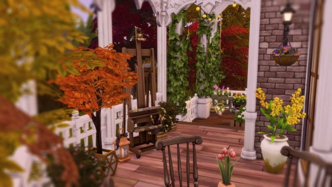 Victorian Autumn House by Ruby Red at Ruby's Home Design image 548 670x377 Sims 4 Updates