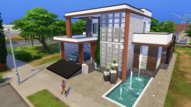 Sims 4 Meronica Lane Modern house by bradybrad7 at Mod The Sims