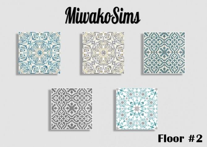 Sims 4 Floor #2 Tiles at MiwakoSims
