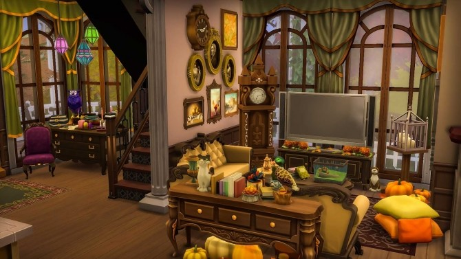 Victorian Autumn House by Ruby Red at Ruby's Home Design image 568 670x377 Sims 4 Updates