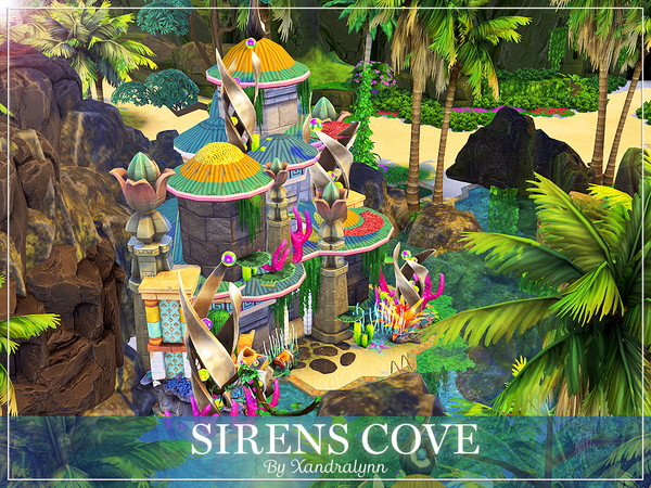 Sirens Cove by Xandralynn at TSR image 580 Sims 4 Updates