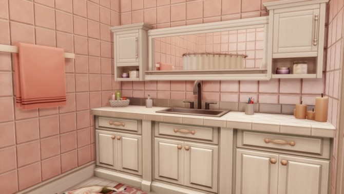 Sims 4 Mary Vintage Apartment at MSQ Sims