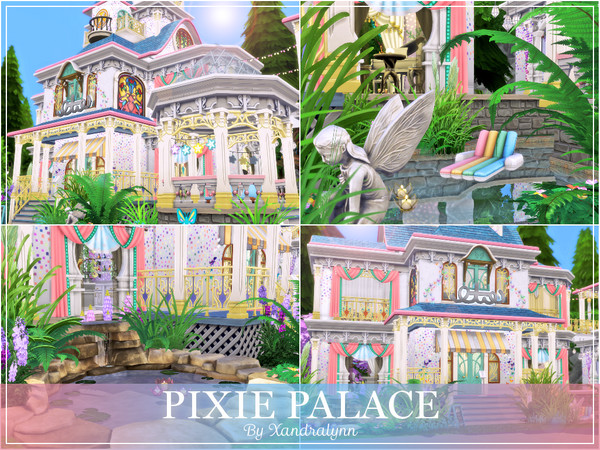 Pixie Palace by Xandralynn at TSR image 5818 Sims 4 Updates