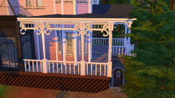 Coraline The Pink Palace Apartments By Joiedesims At Mod The Sims Sims 4 Updates