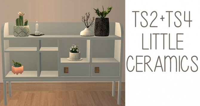 Recolors of leaf motif's Little Ceramics set at Riekus13 image 6011 670x356 Sims 4 Updates