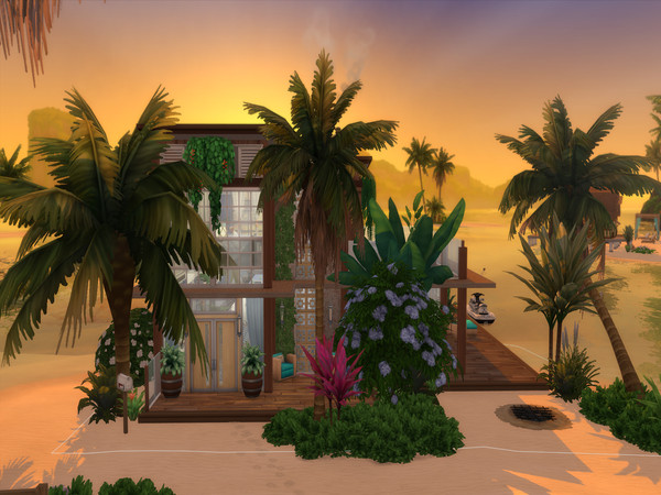 Palmos Loft by LJaneP6 at TSR image 628 Sims 4 Updates