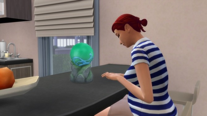 Sims 4 Realm of Magic Familiar Orb Computer by Teknikah at Mod The Sims